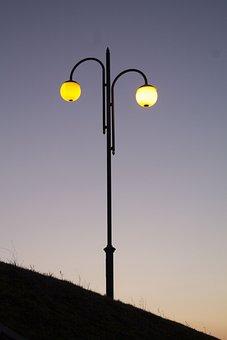 Before Sunlight, Light, Street, Travel, Landscape