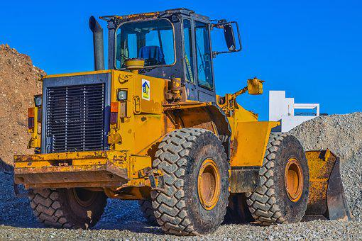Bulldozer, Heavy Machine, Equipment, Vehicle, Machinery