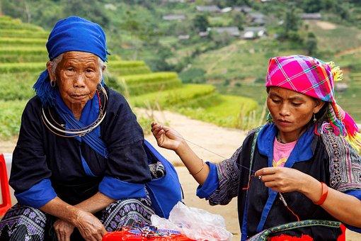 Farmer, Mucangchai, Vietnam, Women