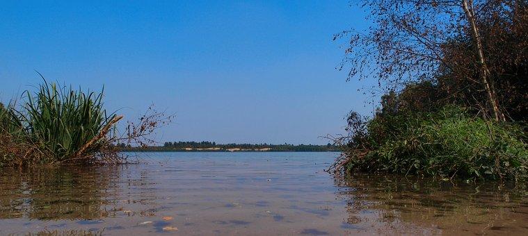 Nature, Water, More, Summer, Horizon, Blue