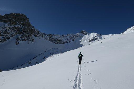 Ski, Backcountry Skiiing, Winter, Winter Sports, Snow