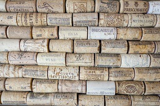 Cork, Bottle Corks, Bulletin Board, Background