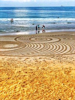 Australia, Byron Bay, Ocean, Sea, Summer