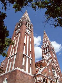 Szeged Cathedral, Catholic, Basilica, 1930, 81 I, Neo