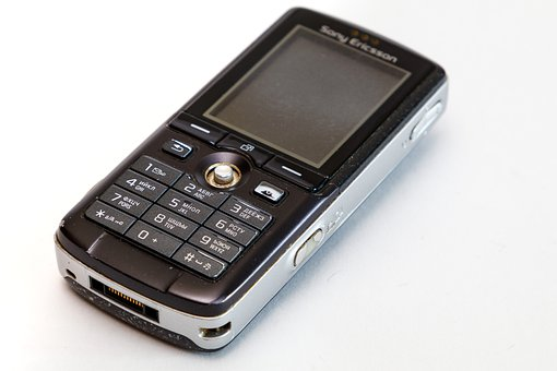 Cellphone, Sony Ericsson, Button, Link, Cell, Phone