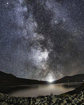 Night Sky, Stars, Milky Way, Constellation, Astronomy