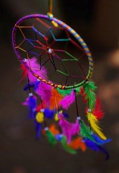 Dream Catcher, Dream, Dreams, Colourful, Dreamcatcher