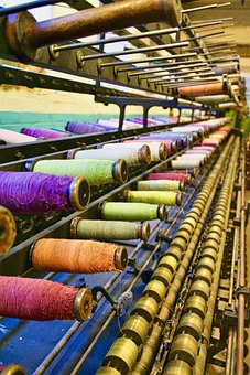 Weaving, Machine, Textile, Fabric, Cotton