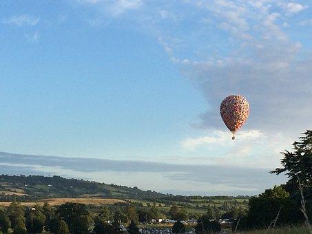 Bristol, Balloon, Sky, Flying, Uk