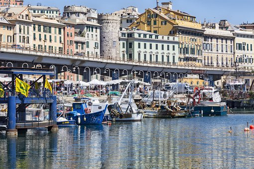 The Old Port, Genoa, Sea, Aquarium