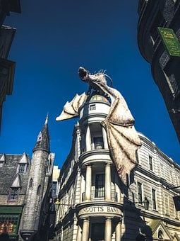 Diagon Alley, Harry Potter, Universal, Orlando