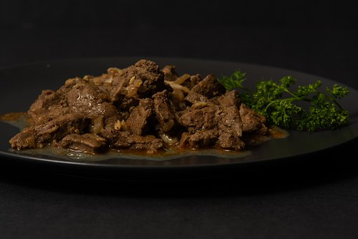 Liver, Resztelt, Food, Fine, Shine, Delicious, Kitchen