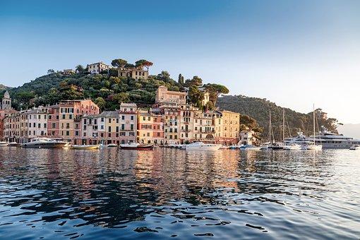 Portofino, Liguria, Italy, Porto, Sea, Boat, Luxury