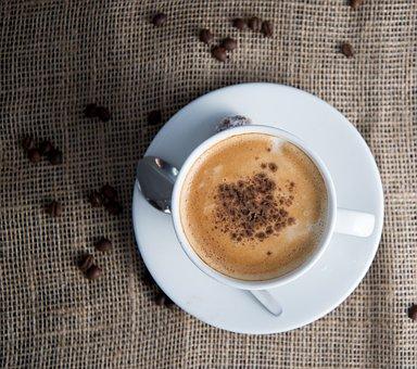 Coffee, Food, Breakfast, Drink, Cup, Mug, Hot, Aroma