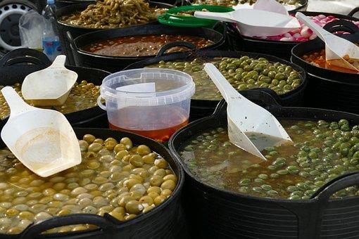 Olive, Fruit, Zuidvrucht, Oil, Food, Mediterranean