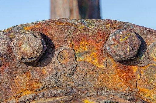 Rust, Iron, Orange, Rusty, Metal