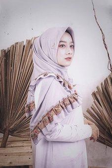 Hijab, Potrait, Veil, Islam, Model, Mus, Muslim, Woman