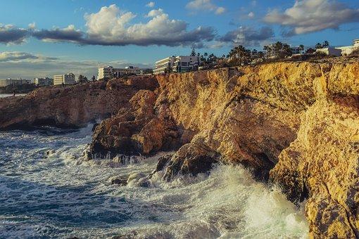 Rocky Coast, Sea, Coast, Nature, Landscape, Rock, Water