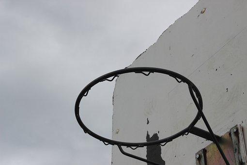 Hoop, Basketball, Sky, Sport, Basket