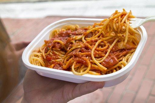 Spaghetti, Noodle, Tomato, Instant