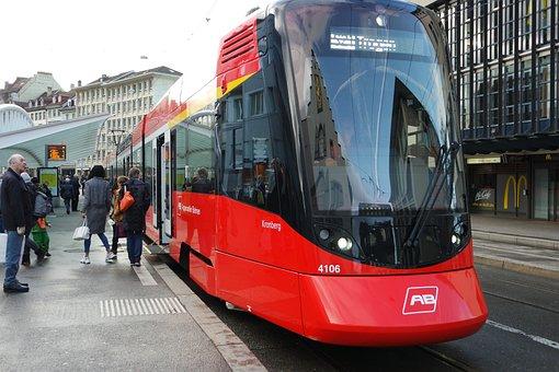 St Gallen, Historic Center, Historically, Tram