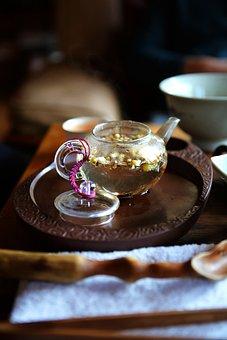 Teacup, Port, Kettle, Tea, Glass Kettle