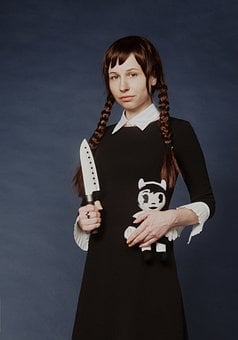 The Addams Family, Wensday Addams, Wednesday Addams
