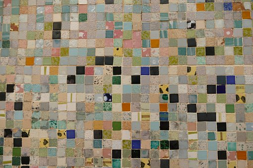 Wall, Facade, Background, Tile, Mosaic, Brickwork