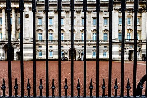 London, Uk, England, Queen, Palace, Buckingham, Door