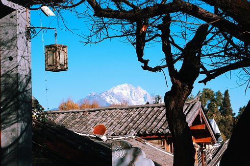 Snow Mountain, In Yunnan Province, Composition, Views