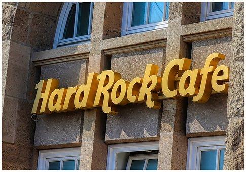 Hard Rock Cafe, Brick, Hamburg, Architecture, Building