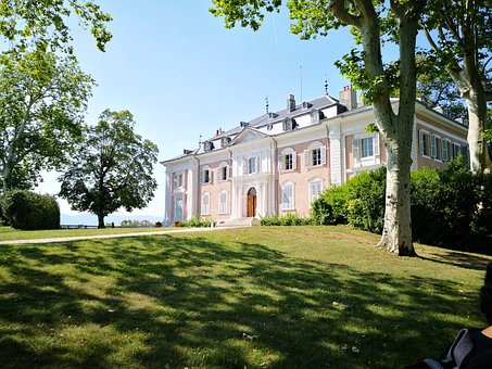 Chateau, House, Architecture, Mansion