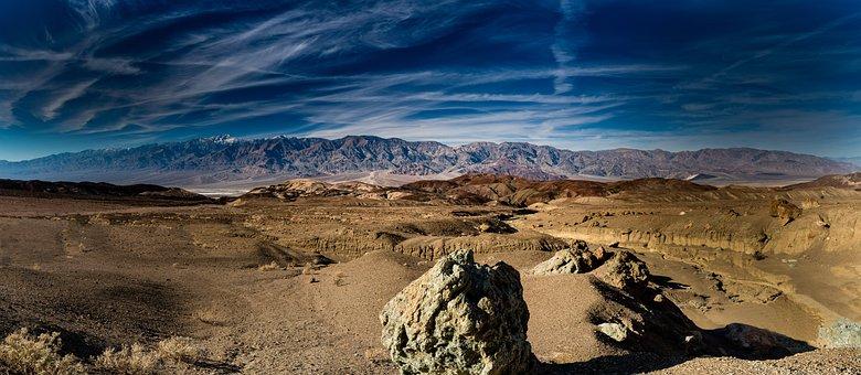 Artist Point, Death Valley, Desert