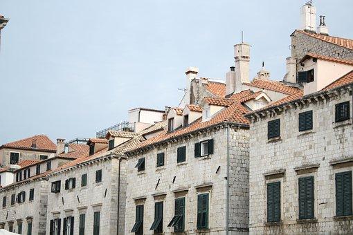 Dubrovnik, Stone House, Croatia, Historic, Building