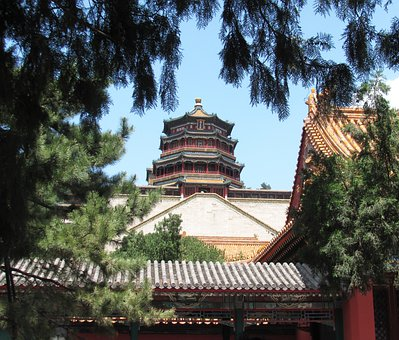 China, Temple, Places Of Interest, Architecture