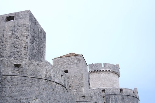Dubrovnik, Minceta, Croatia, City, Architecture