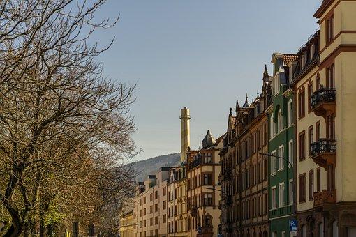 Building, Houses, Heidelberg, Germany, Europe
