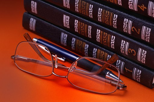 Glasses, Book, Paper, Reading, Expertise, Office