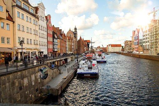 Gdynia, Gdańsk, Train, Old, Rusty, Water
