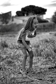 Girl, Laugh, Happy, Child, Beautiful