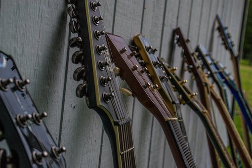 Guitars, Headstock, Guitar, Instrument, Strings