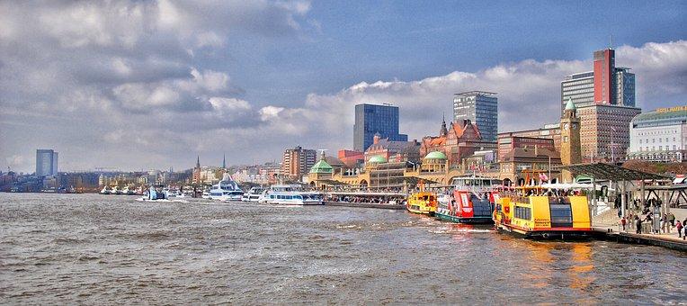 Hamburg, Hanseatic City, Northern Germany, Port, Ship