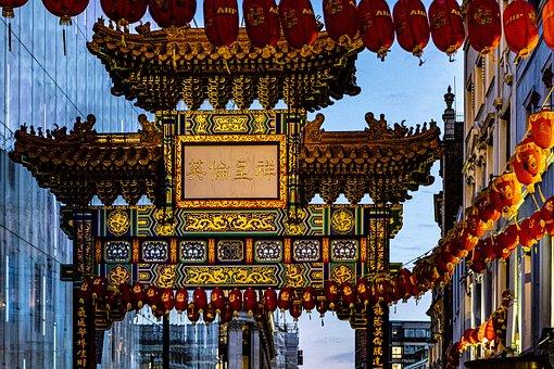 London, Capital, City, Urban, England, Chinatown