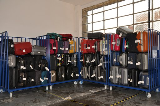 Luggage, Shop, Travel, Transport, Aircraft, Colors