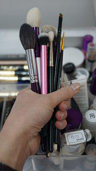 Hand, Brush, Makeup, Hands, Manicure, Cosmetics, Design