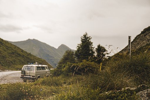 Mountains, Vanlife, Travel, Camping Bus, Vwt3, Trips