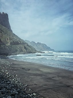 Sea, Ocean, Water, Wave, Sky, Nature