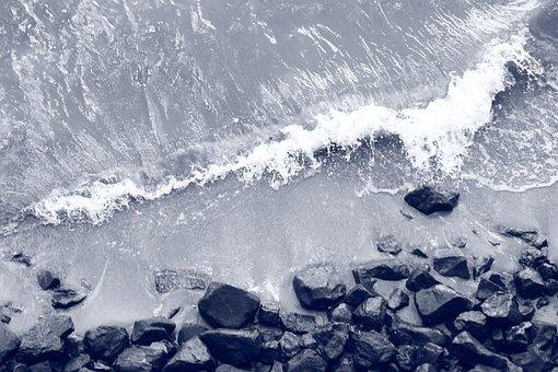 Water, Beach, Stones, Coast, Relaxation