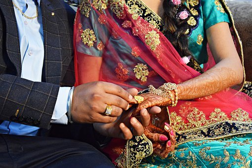 Ring Ceremony, Ring, Engagement, Couple, Love, Jewelry