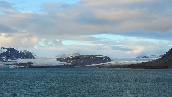 Spitsbergen, Arctic, Glacier, Sea, Ice, Water, Cold